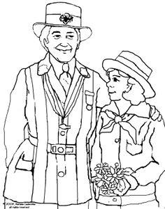 Juliette Gordon Low On Pinterest Girl Scouts Girl Scout Juliette Gordon Low Coloring Page