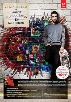 Anúncio Adobe para a nova Suite Creative Cloud Target: Designers