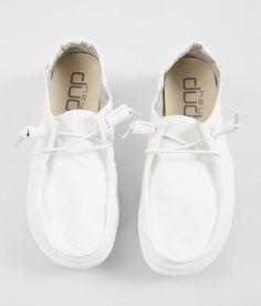 Hey Dude Wendy Shoe - Women s Shoes in White Buckle Sneakers Mode, Sneakers Fashion, Fashion Shoes, Shoes Sneakers, Shoes Men, Fashion Dresses, Women's Fashion, Loafer Shoes, Women's Shoes Sandals
