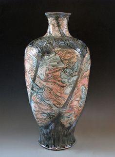 Porcelain moth vase | Stephanie Young | CalmWaterDesigns