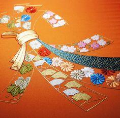 日本刺繍紅会 カリキュラム 『 花熨斗 』