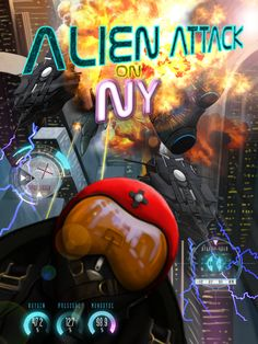 Alien Attack on NY, available in the App Store