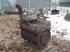 Oil Drum Maple Syrup Evaporator