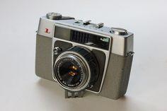 Konica L with 40mm f2.8 Konishiroku Hexar lens Vintage Cameras, Film Camera, Lens, Pictures, Klance, Lentils, Movie Camera