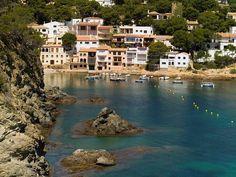 Sa Tuna Beach in Begur, Costa Brava, Girona province, Catalonia.
