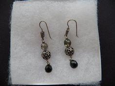 $5.00 Silvertone Dangle Earrings (73015-1255MS) jewelry, earrings, collectibles #unknown #DropDangle
