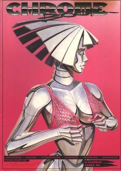 The original Chromebook for the tabletop roleplaying game Cyberpunk 2020 from R Talsorian Games, originally released in Cyberpunk 2020, Cyberpunk Kunst, Arte Robot, Robot Art, Art Pop, Cyberpunk Aesthetic, Psy Art, Vintage Poster, Retro Waves