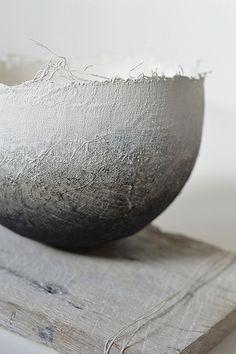 Gizella Warburton #papier_mâché_bowl