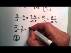 How To Multiply Fractions - Great explanation of reducing.