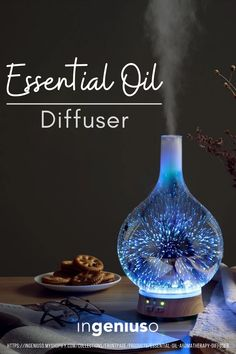 Unlike candles or air fresheners, oil diffusers release cleansing molecules into your air that work to purify it, not overload it with unhealthy chemicals. #essentialoildiffuser #scentdiffuser #calming #diffuser Essential Oil Diffuser, Essential Oils, Diffusers, Stargazing, Calming, Fireworks, Aromatherapy, Flask, Essentials