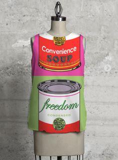 'Freedom'-Sleeveless top by VIDA