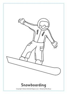 25 Best Olympics Coloring Sheets Images Olympic Idea Winter