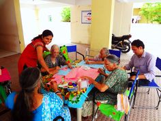 Recreational activity at High Care home