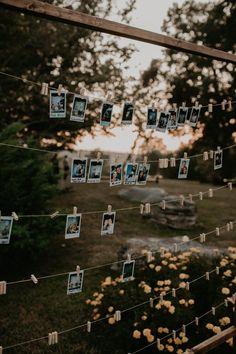 This DIY Backyard Wedding in Nashville is Chock Full of Stylish Inspiration - - Sommer der Hinterhofhochzeit Backyard Wedding Decorations, Backyard Wedding Lighting, Backyard Wedding Receptions, Outdoor Fall Wedding Reception, Backyard Wedding Invitations, Wedding Reception Lighting, Reception Party, Reception Ideas, Summer Wedding