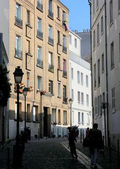 Rue Riblette. Paris XX