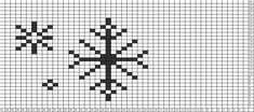Tricksy Knitter Charts: snowflakes