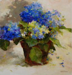 Cobalt Hydrangea...Kathy Anderson