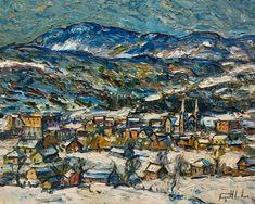 fine art since 1989 Charlevoix, Canadian Painters, City Art, Impressionist, Art Lessons, Original Paintings, Contemporary, Rock, The Originals