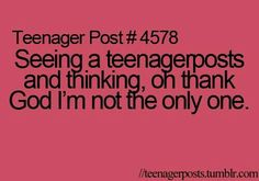 funny, teenager post