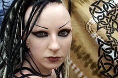 #Goth girl from M'era Luna Festival