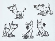 "TBT. Throw back to when I was designing the dog for my student film- ""The Littlest Valkyrie"". His name is Thor. #throwbackthursday #tbt #sketch #sketchbook #dog #thor #characterdesign #dog #animation #expressions #animal #studentfilm"