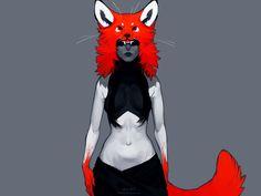 the fox by littleulvar.deviantart.com on @deviantART