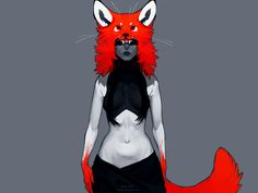 the fox by littleulvar.deviantart.com on @deviantART
