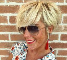 Lang leve het korte haar! Check hier een toffe mix van 10 trendy korte kapsels! - Kapsels voor haar