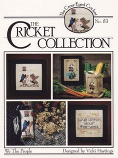 We-the-People-The-Cross-Eyed-Cricket-Cross-Stitch-Pattern-Leaflet-No-83
