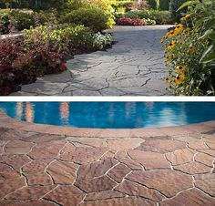 Arbel Irregular Concrete Pavers capture the elegant appearance of natural stone featuring irregular base shape + an attractive array of unique textures. Retaining Wall Pavers, Concrete Pavers, Manufactured Stone, Nantucket, Cape Cod, Natural Stones, Vineyard, Garden, Outdoor Decor
