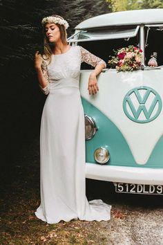 Wedding Dress by Lorafolk 2017 // Bridal Dress collection 2017// Robes de mariée Lorafolk 2017