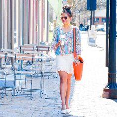 #crochet, #topknot #orangebag  @liketoknow.it www.liketk.it/2n5D1 #liketkit - top from @shopthemint, bag feat @henribendel #bendelgirl , sunnies via @shopditto