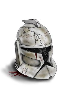 Helmet by gloryblaz on DeviantArt Star Wars Clones, Star Wars Clone Wars, Star Wars Art, Casque Clone Trooper, Clone Trooper Helmet, Star Wars Helmet, Images Star Wars, Star Wars Pictures, Star Wars Collection