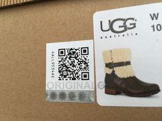 ugg boots qr code