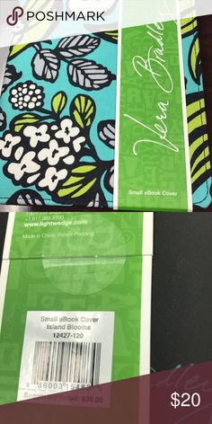 Kindle/small ebook cover. Vera Bradley small cover for electronics. Brand new. Never used. Vera Bradley Accessories Laptop Cases