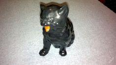 keramické kotě, starý Royal Dux, Czechoslovakia, RAR, v této barvě vidím poprvé