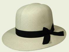 Producer: Panama hats made in Ecuador-Tesi Hemingway style #fashion #hat  #womanhat #panama #ribbon #hats #accessories #accessori #cappelli #moda #fashion #cappellidonna