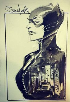 Catwoman by Sean Murphy *