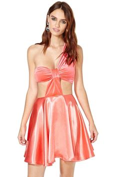 """The company says it wants to offer """"an alternative to those expected long princess gowns and tiaras with a rebellious assortment of everything a gal needs to celebrate the big night in her own way."""" 