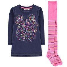 Character Fleece Dress Set Little Girls My Little Pony Cotton Tights, Kid Character, Dress Set, Graphic Prints, My Little Pony, Kids Outfits, Infant Girls, Graphic Sweatshirt, Knitting
