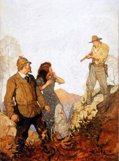 N. C. Wyeth (1882-1945) New Story Magazine, cover illustration ca. 1912 Oil on canvas, 46 x 34 in. (116.8 x 86.3 cm)