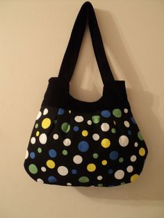 sale sale mjcreation bag purse in very cute  fabric by mjcreation, $12.00