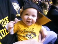 My little Shocker Feb 2010. #WATCHUS