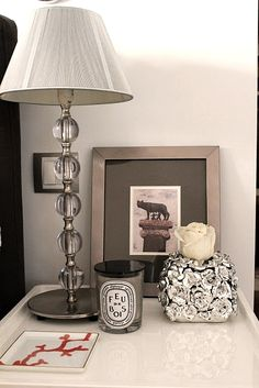 I want the lamp base with either a plum purple or Olive green lamp shade