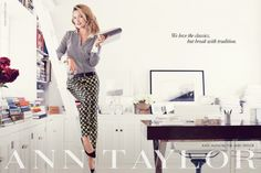 Kate Hudson for Ann Taylor Fall/Winter 2013 Campaign