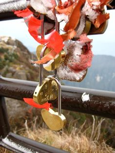 At the top of Emei Shan, you can buy a lock (with your name engraved), make a wish and then lock it somewhere on the mountain. If the wish comes true, you must go back to the mountain to thank the Buddha.     Credit: Clare Eisenberg