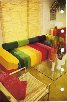 Rainbow beauty couches