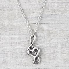 Song in Your Heart Necklace from Island Cowgirl Jewelry