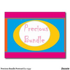 Precious Bundle Postcard