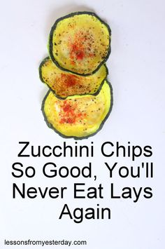 Simple to make, inexpensive and healthy, these zucchini chips require only zucchini, olive oil and spices!